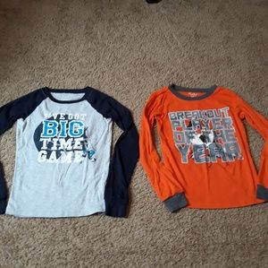 Lot of 2 Children's Place Long Sleeved Shirts